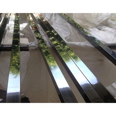 镜面无指纹不锈钢方管,佛山304不锈钢方管无指纹加工,201镜面方通规格