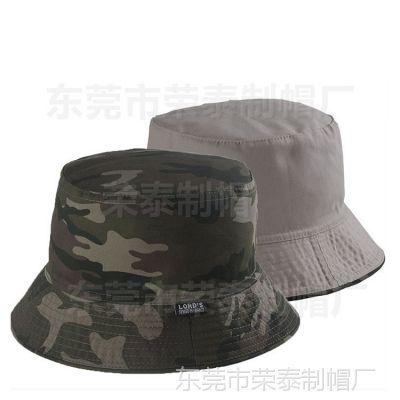夏天迷彩钓鱼登山圆边渔夫帽盆帽防晒遮阳丛林野外男士女士渔夫帽