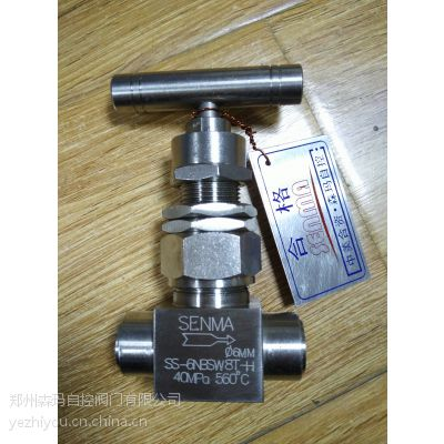 SENMA不锈钢高温高压球形针型阀SS-6NBSW8T-H