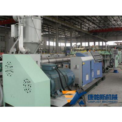康帕斯机械SJ90/120/150塑料中空格子板生产线