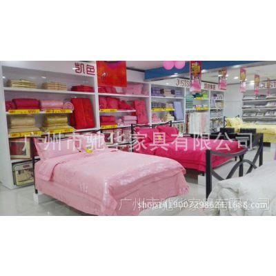 免费设计烤漆家纺展柜 家居床上用品展示架 用材环保展柜定做