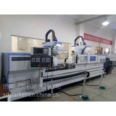 数控加工中心双头高速加工中心济南派克机器可定制DMCC3-2HS