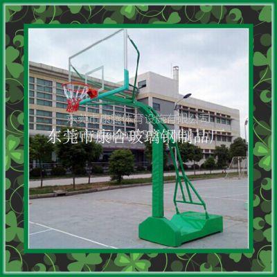 厂家直销NBA篮球架凹箱移动篮球架学校球场篮球架 东莞周边包安装