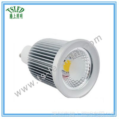 厂家直销3W/5W/7W/9W高亮COB灯杯 mr16可做调光压铸新款LED射灯