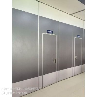 广东达宏隔断活动隔断吊轮,活动隔断屏风生产专业厂家65型三聚氰氨板饰面