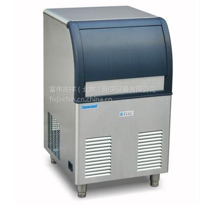 Snowsman雪人SD-120制冰机 60公斤方冰制冰机 酒吧咖啡厅冷饮店