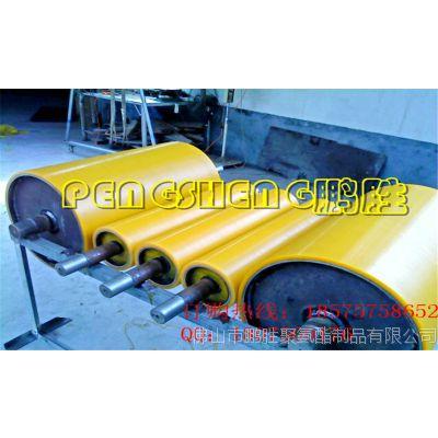 冶金机械退火S辊 高耐磨大直径聚氨酯包胶滚筒  黄色滚筒加工
