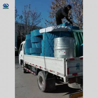 华北制药厂里的冷却塔大修更换填料 S波点波填料圆塔斜交错多少钱一立方13785867526