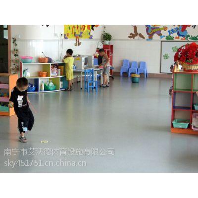 供应南宁地区孩之宝2mm幼儿园PVC拼图塑胶地板建设