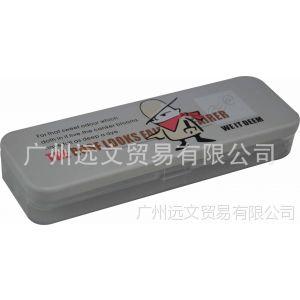 厂家大量供应马口铁文具盒 铁笔盒 各类文具铁罐