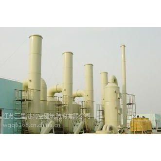 黄山钢烟囱防腐维修图片