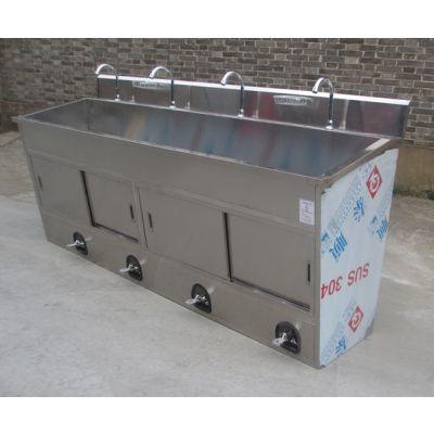 食品厂304不锈钢洗手池定做厂家