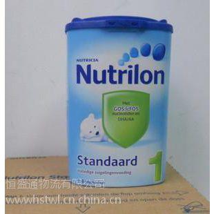 奶粉进口,德国,美国,新西兰奶粉进口到中国运输方法