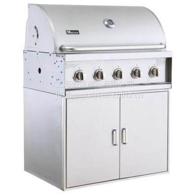 Miecns/美诺仕A315S-CM内嵌式户外BBQ烧烤炉 抛光嵌入式304不锈钢烧烤炉 别墅烧现货