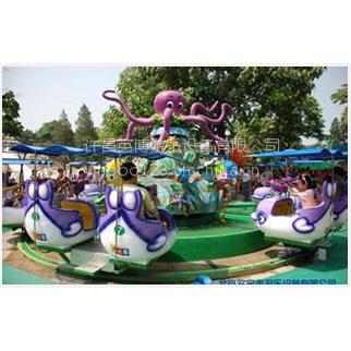 英博游乐设备欢乐海洋造型多样 色泽鲜亮