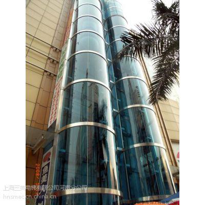 上海三菱电梯焦作地区三菱圆弧观光电梯