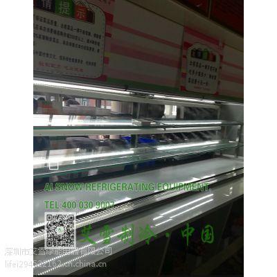 成都重庆火锅配菜柜,川西坝子火锅冷柜,自助火锅展示柜,冒菜配菜冰柜