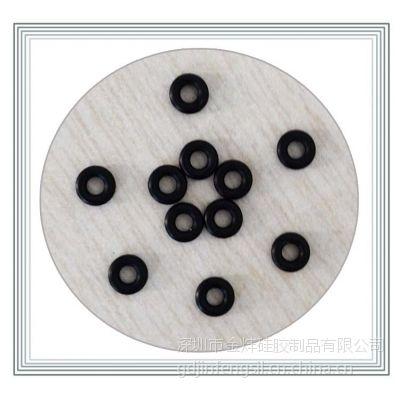 YF耐高温电子硅胶O型圈密封防水线径1mm