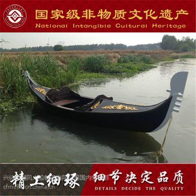 定制出售批发意大利专业设计贡多拉游船,异国风格游船,手工艺木船制造
