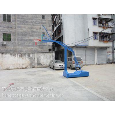 移动篮球架价格 移动式篮球架厂家 厂家销售保证质量 付定金后全国货到付全款康腾体育