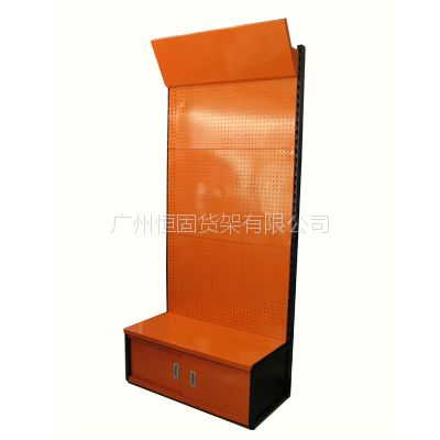 供应冲孔板展示架,五金工具架,定制展示架,广州展示架