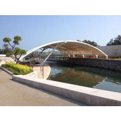 福州机场码头景观膜结构