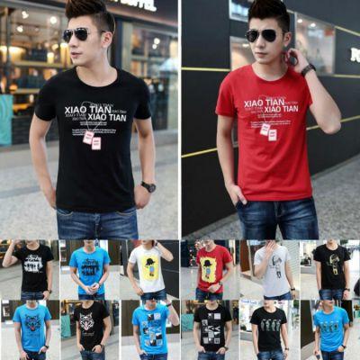 低至两三元纯棉男士短袖T恤夏季爆款青少年打底衫厂家跳楼价批发