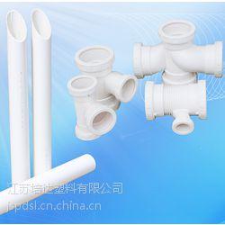 培达塑料pvc内螺旋消音管材