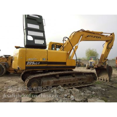 出售二手挖机、二手现代225挖机特价优惠中 创业