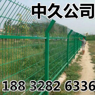 中久厂家直销工地用围圈山围地铁丝网 50*50网孔养鸡果园围网 河堤鱼塘安全防护网