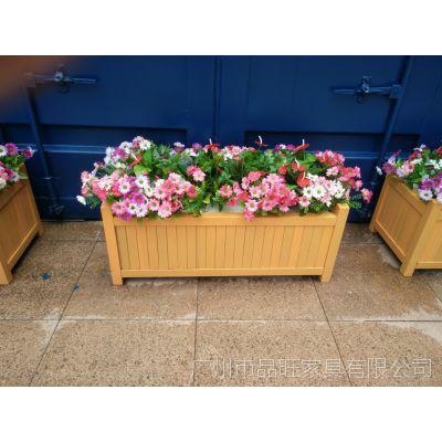 湖南市政花箱 塑木花箱 组合塑木花箱