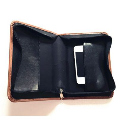 上海皮具厂 生产pu拉链包,仿皮女式手拿包,钱包,手机包
