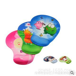 特价 生产批发 萝莉 彩硅胶护腕鼠标垫 广告鼠标垫 定制鼠标垫