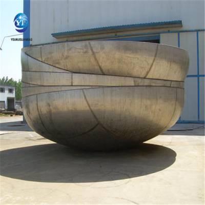 碳钢大口径封头直径3米,封头生产厂家,河北乾胜专业管配