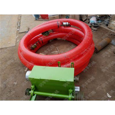 3寸软螺旋吸粮机厂家 边缘很圆滑的软螺旋吸粮机 润丰机械
