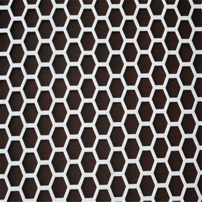旺来铝冲孔网板 消音冲孔网 圆孔
