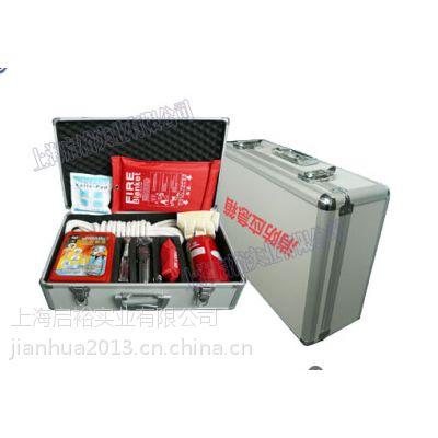 上海家用消防应急器材箱,容纳了自救,逃生用具,有防毒,灭火等用品