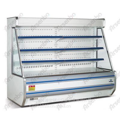 蔬菜陈列柜 蔬果保鲜柜 蔬菜冷藏柜 超市蔬果保鲜冰箱 雅绅宝超市冰柜