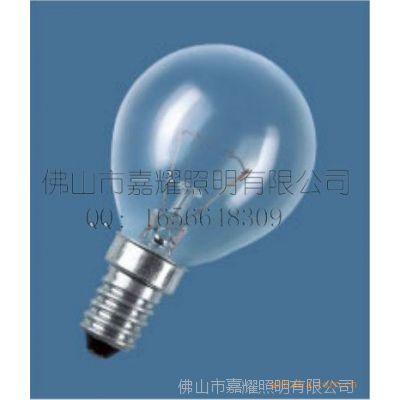 供应欧司朗 40W球型灯泡 透明/磨砂 E14/E27 OSRAM普通灯泡