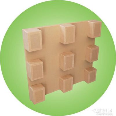 竹坑纸卡板供应 老坑纸栈板厂家 田头纸托盘 A001 奇昌