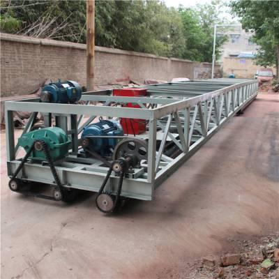 带架子的 三滚轴摊铺机 生产三辊轴式摊铺机 厂家 百一