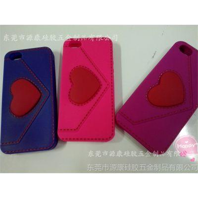 供应卡通情侣手机套 情侣硅胶保护壳 糖果色手机壳硅胶套