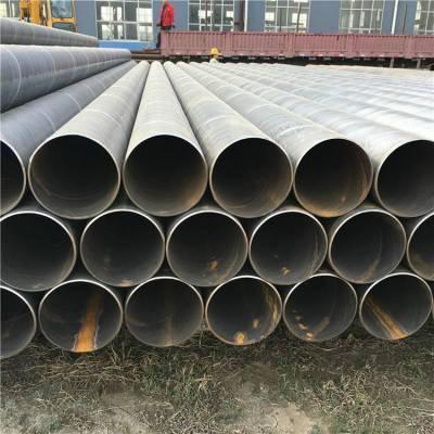 潍坊防腐螺旋钢管820×10过磅价格