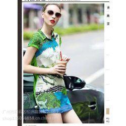 慕歌2016时尚品牌真丝系列夏装广州折扣女装一手货源走份