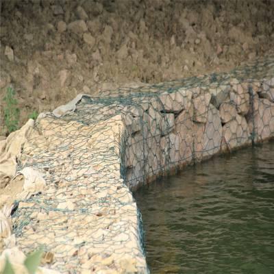 格宾网水利 格宾石笼网护垫 铅丝石笼网工程