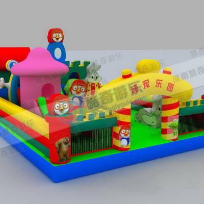 小孩玩的气垫城堡多少钱