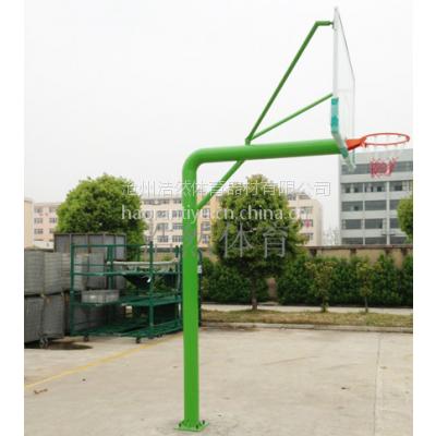 浩然体育供应室外中小学地埋圆管篮球架