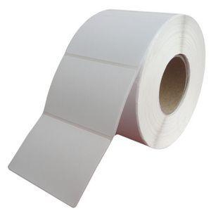 供应50*40*3000P 空白条码纸/碳带打印纸/标签纸印刷/纸箱唛头标签