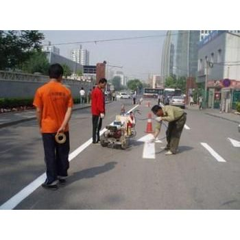 重庆道路划线公司、重庆热熔标线施工队、标线价格多少一米