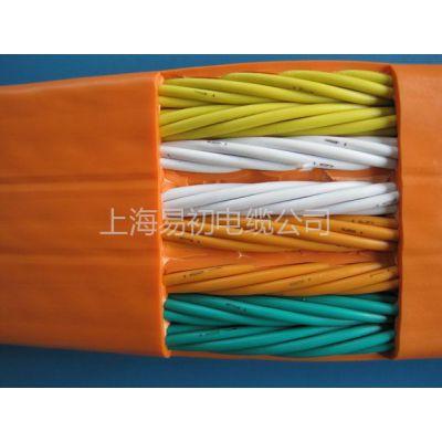 上海易初电梯电缆 电梯随行电缆TVVB系列